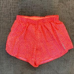 REEBOK shorts fluorescent animal print size XS